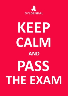 Keep calm and pass your exam